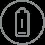 Alarm bei schwacher Batterie