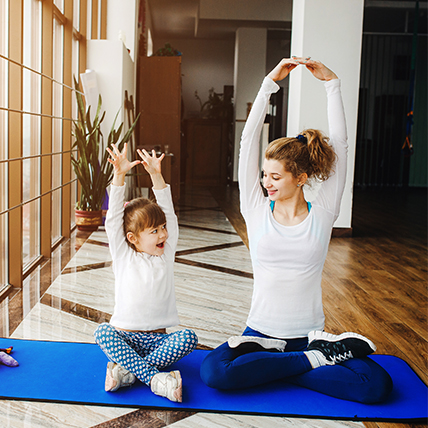 Why family yoga is a great idea!