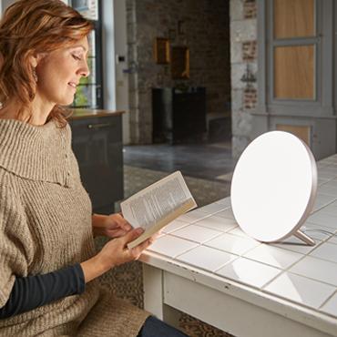 Lichttherapie helpt je uit je dipje!