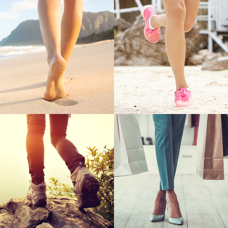Foot care for every type of holiday - follow our guide!